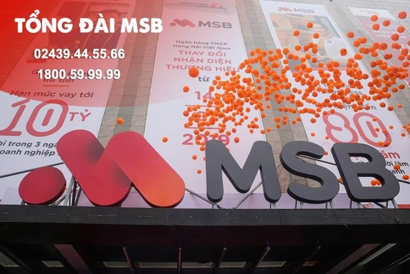 Tổng đài MSB toàn quốc