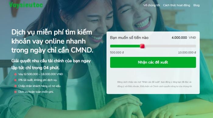 Hướng dẫn vay tiền online tại Vaysieutoc.vn